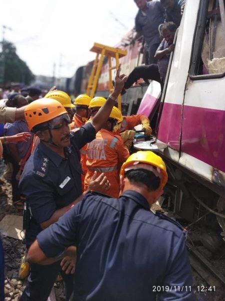 Hyderabad: 16 injured after Express, local train collide at Kacheguda; efforts on to rescue trapped driver