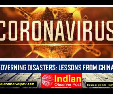 Corona Disaster: Lessons from China